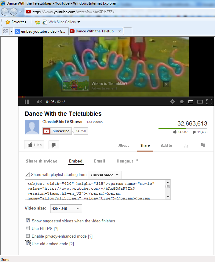 How to Get Youtube Embed Code