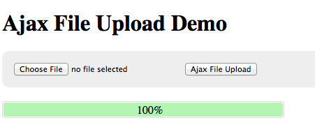 Ajax File Upload JQuery Tutorial