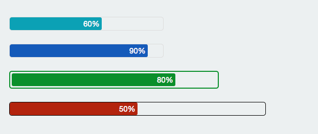jQuery Progress Bar Example