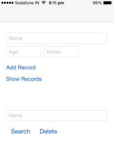 iOS SQLite Tutorial