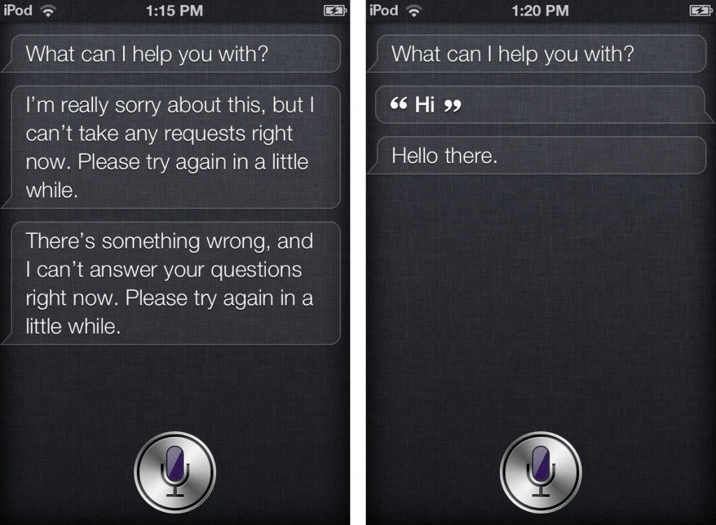 Working SIRI